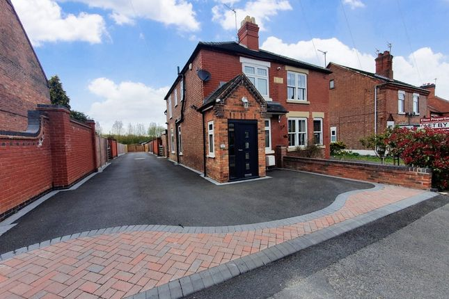 3 bed semi-detached house for sale in Woodville Road, Derbyshire, Overseal DE12