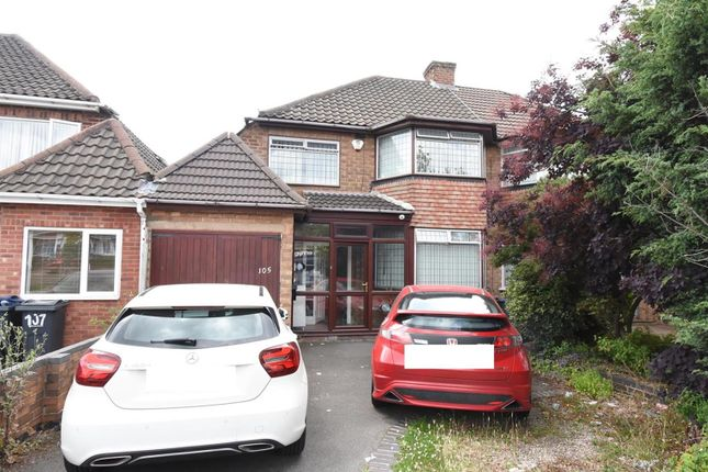 Thumbnail Semi-detached house for sale in Bucklands End Lane, Hodge Hill, Birmingham