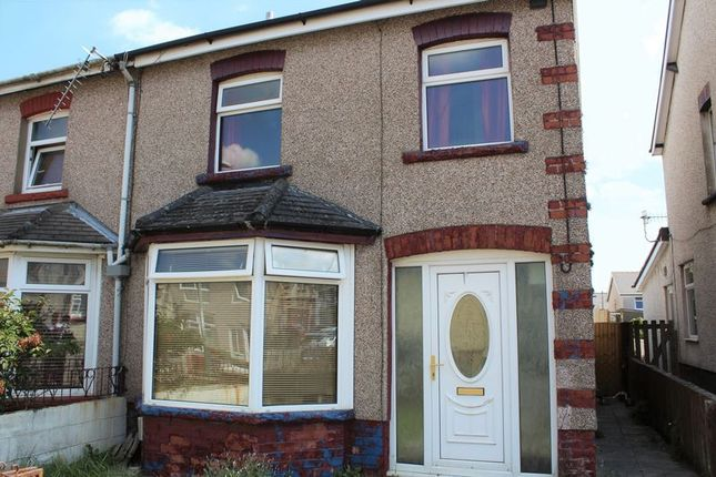Thumbnail Semi-detached house to rent in Gelligaer Road, Cefn Hengoed, Hengoed
