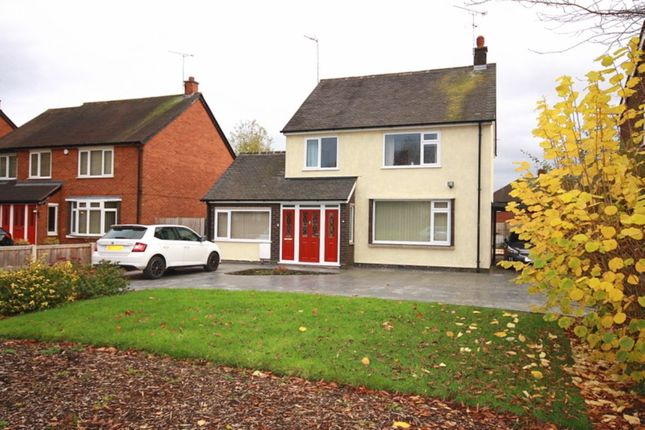 Thumbnail Detached house for sale in Middlewich Road, Nantwich