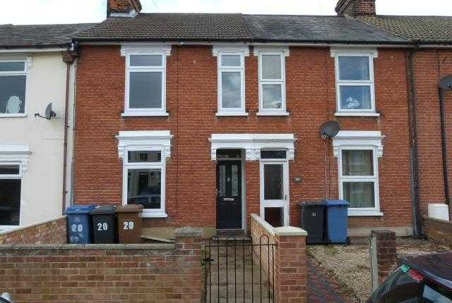Thumbnail Terraced house to rent in Henslow Road, Ipswich
