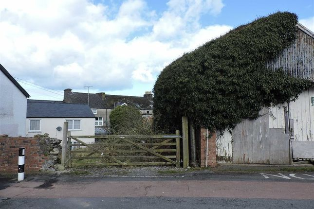 Thumbnail Land for sale in Parc Y Shwt, Fishguard