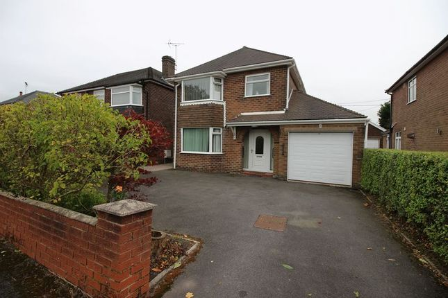 Thumbnail Detached house for sale in Heath Avenue, Cellarhead
