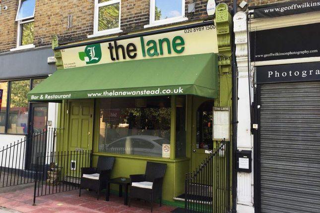 Thumbnail Restaurant/cafe for sale in Wanstead E11, UK