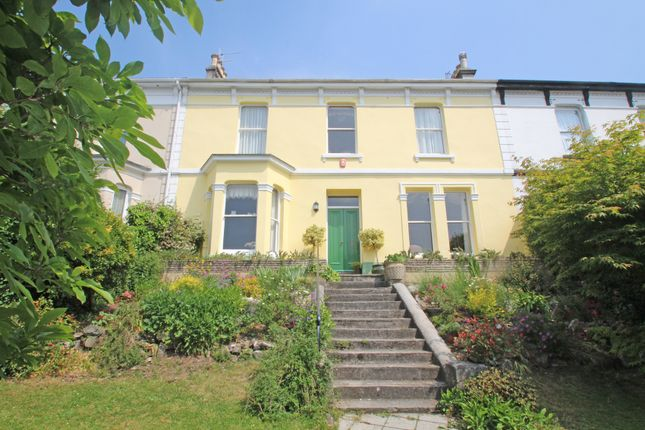 Thumbnail Terraced house for sale in College Avenue, Mannamead, Plymouth