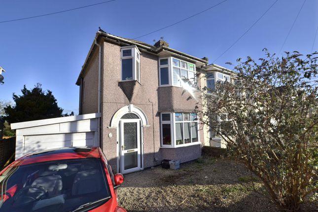Thumbnail Semi-detached house for sale in Mackie Avenue, Filton, Bristol