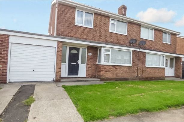 Thumbnail Semi-detached house to rent in Ingram Drive, Blyth