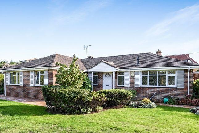 Thumbnail Detached bungalow for sale in Craigweil Lane, Aldwick, Bognor Regis