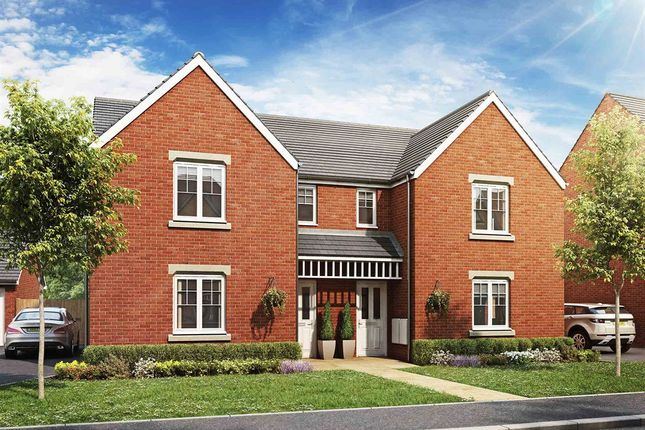 """Thumbnail Semi-detached house for sale in """"The Hatfield"""" at Haverhill Road, Little Wratting, Haverhill"""