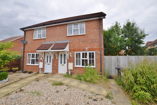 Thumbnail Semi-detached house to rent in Skylark Way, Kingsnorth, Ashford