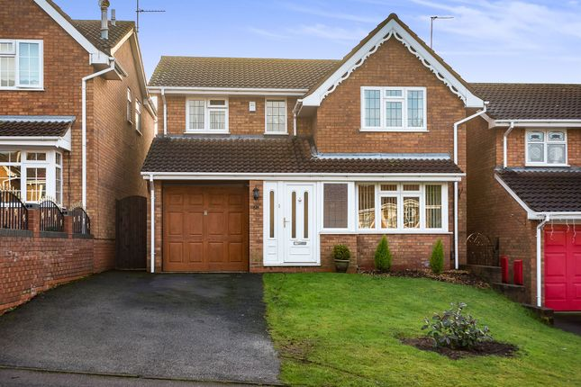 4 bed detached house for sale in North View Drive, Brierley Hill