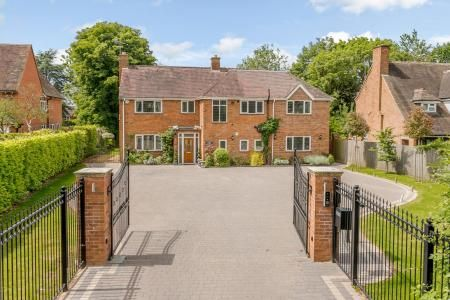 Thumbnail Detached house for sale in Station Road, Knowle, Solihull
