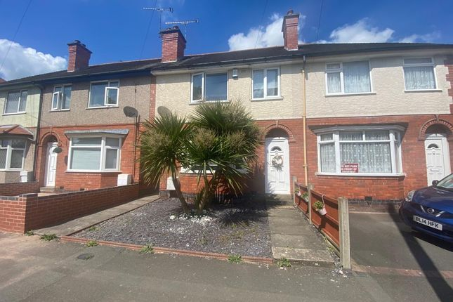 Thumbnail Terraced house to rent in Hollystitches Road, Nuneaton