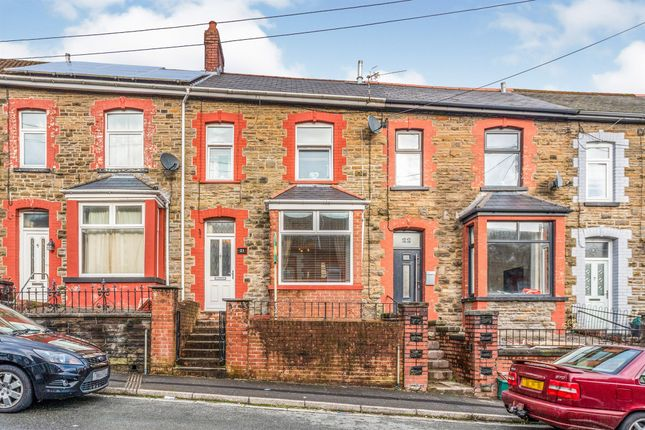3 bed terraced house for sale in Upton Street, Porth CF39