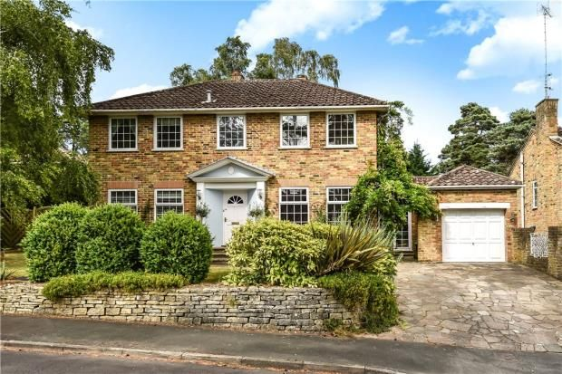 Thumbnail Detached house for sale in Winding Wood Drive, Camberley, Surrey