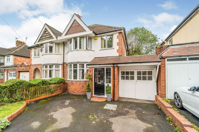 Thumbnail Semi-detached house for sale in Inverclyde Road, Handsworth Wood, Birmingham