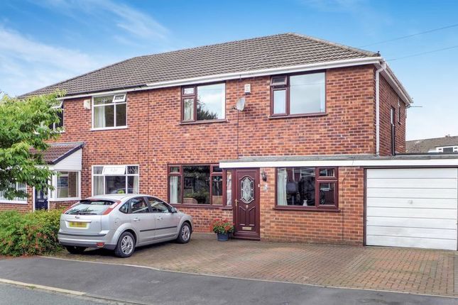 3 bed semi-detached house for sale in Ladybridge Avenue, Worsley, Manchester