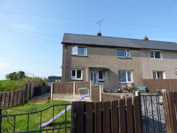 Thumbnail Semi-detached house for sale in Maes Llydan, Capel Garmon, Llanrwst, Conwy