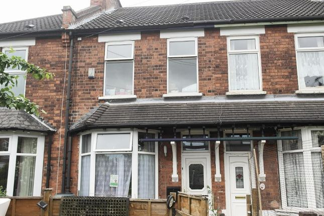 Thumbnail Terraced house for sale in Farnley Square, Ella Street, Hull