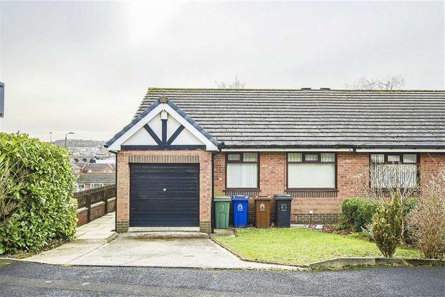 Thumbnail Semi-detached bungalow for sale in Lupin Close, Accrington, Lancashire
