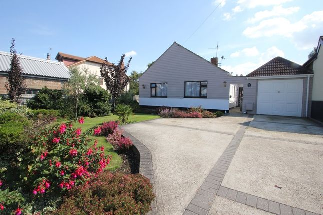 Thumbnail Detached bungalow for sale in Folly Lane, Hockley