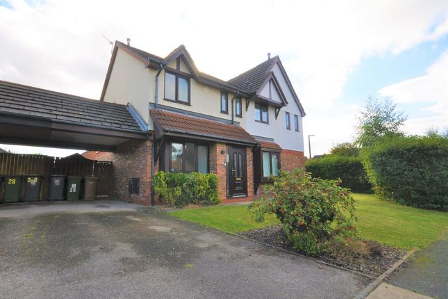 Thumbnail Semi-detached house for sale in Mereheath, Moreton, Wirral