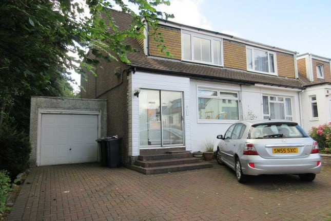 Thumbnail Semi-detached house to rent in Clermiston Road, Corstorphine, Edinburgh