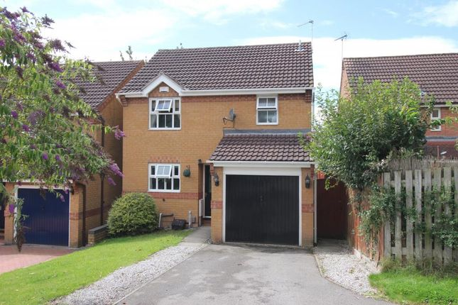 Thumbnail Detached house for sale in Kedleston Close, Huthwaite, Sutton-In-Ashfield