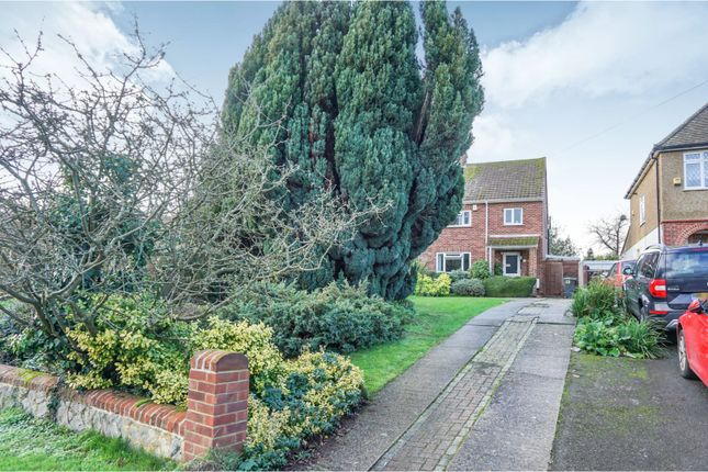 Thumbnail Semi-detached house for sale in Castle Way, West Malling
