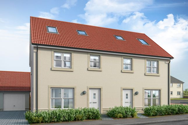 Thumbnail Semi-detached house for sale in Milne Meadows Old Craighall, East Lothian