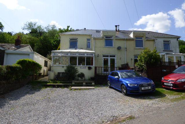 Thumbnail Semi-detached house for sale in Garreg Side, Blaengarw