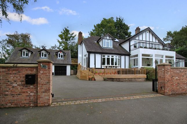 Thumbnail Detached house for sale in Park Drive, Crewe, Cheshire