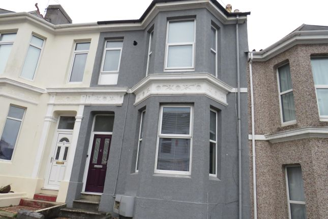 Thumbnail Flat to rent in St Hilary Terrace, St. Judes, Plymouth