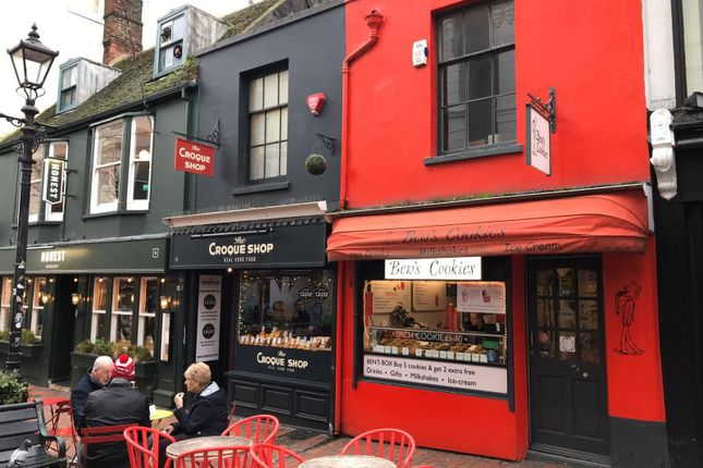 Thumbnail Commercial property for sale in Duke Street, Brighton