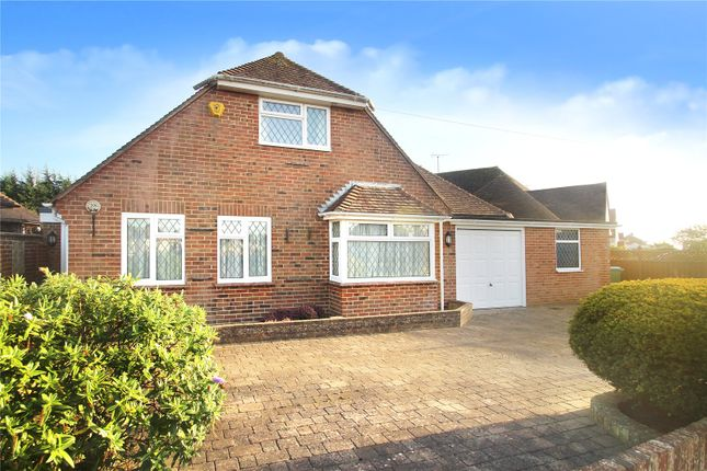 Thumbnail Detached house for sale in Evelyn Avenue, Rustington, West Sussex