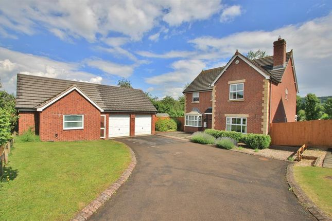 Thumbnail Detached house for sale in Rudhall Meadow, Rudhall, Ross On Wye
