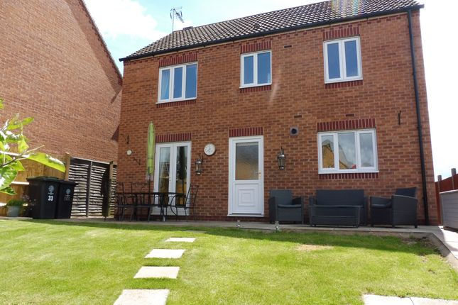Thumbnail Detached house for sale in Weighbridge Way, Raunds, Wellingborough