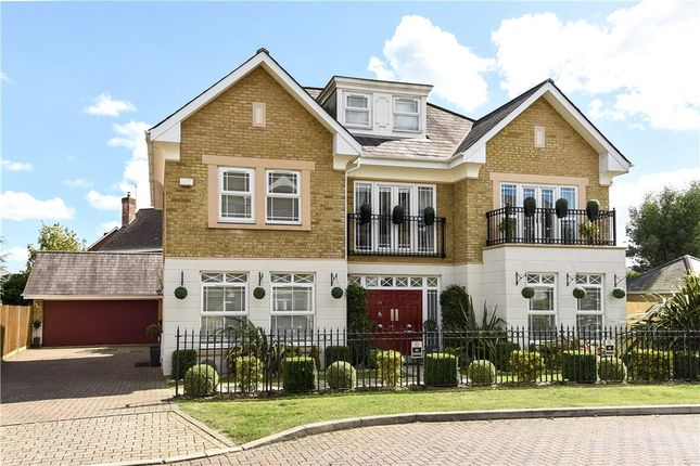 Thumbnail Detached house for sale in Drifters Drive, Deepcut, Camberley