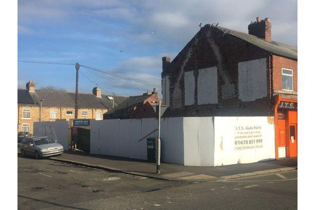 Thumbnail Land for sale in Milburn Road, Ashington
