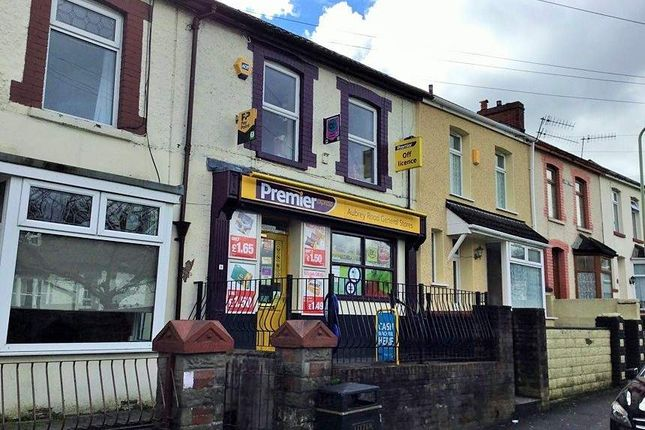 Thumbnail Retail premises for sale in Aubrey Road General Store, Tonypandy