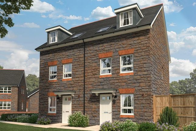 """Thumbnail Terraced house for sale in """"Somer"""" at Sandys Moor, Wiveliscombe, Taunton"""