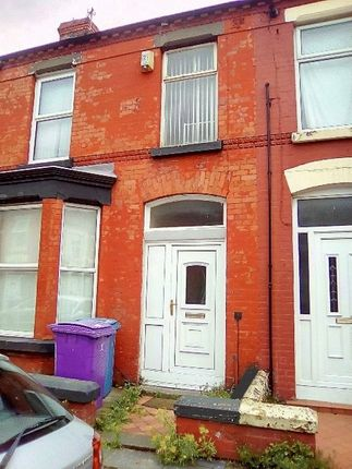 Thumbnail Terraced house for sale in Cranborne Road, Wavertree, Liverpool