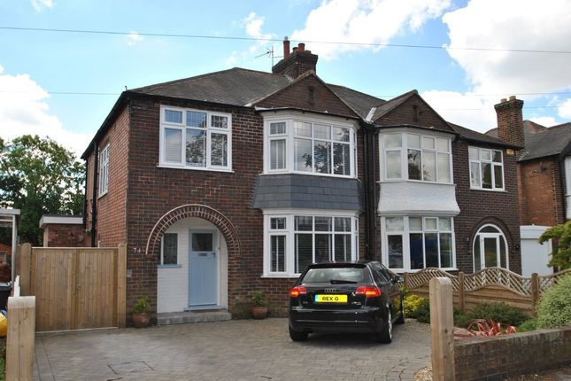 Thumbnail Semi-detached house to rent in Davies Road, West Bridgford