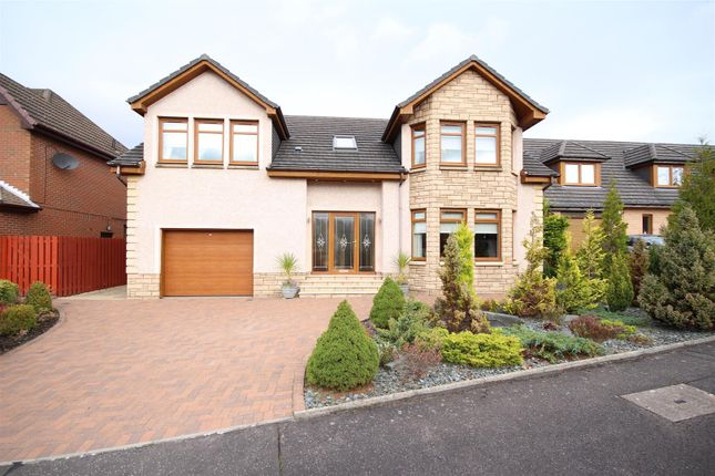 Thumbnail Detached house for sale in Lime Grove, Motherwell