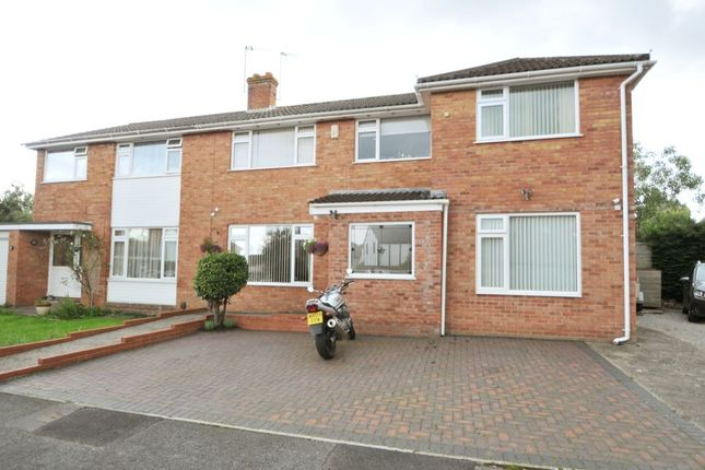 Thumbnail Semi-detached house for sale in Dene Close, Keynsham, Bristol