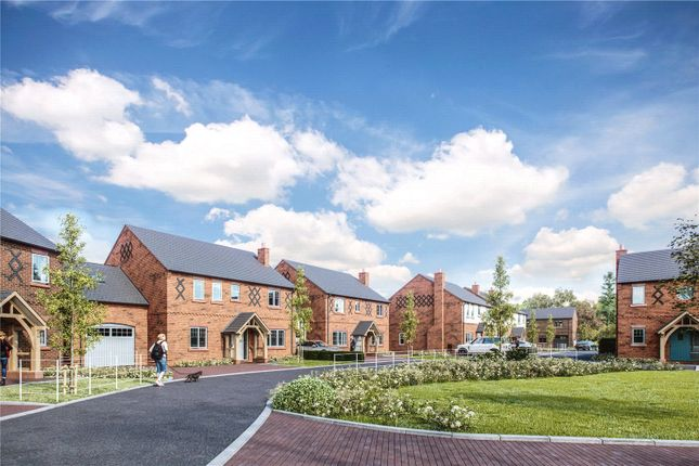 Thumbnail Link-detached house for sale in Belgrave Garden Mews, Pulford, Chester