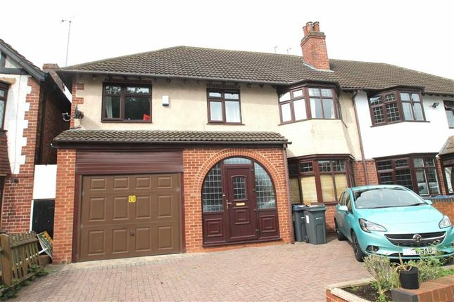 Thumbnail Semi-detached house for sale in Rotton Park Road, Edgbaston, Birmingham