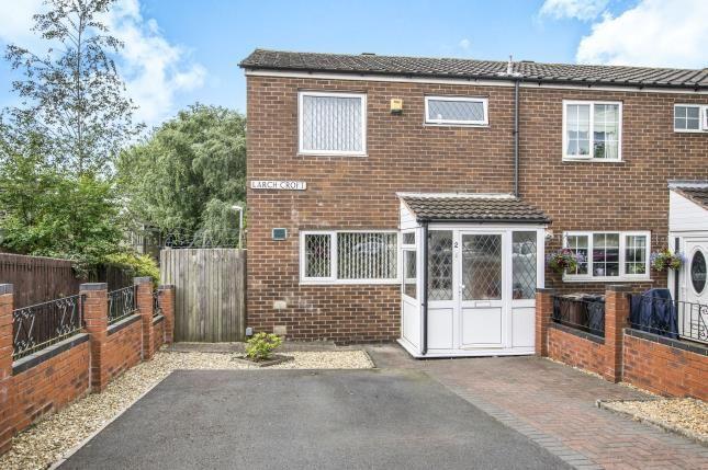 Thumbnail End terrace house for sale in Larch Croft, Chelmsley Wood, Birmingham, West Midlands