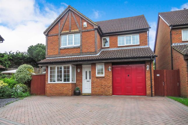 Thumbnail Detached house for sale in Chaucer Drive, Biggleswade