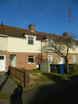 Thumbnail Terraced house to rent in Kendall Way, Cambridge